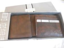 Buxton Deluxe Credit Card Billfold Genuine Leather Wallet,Brown Daily Deal