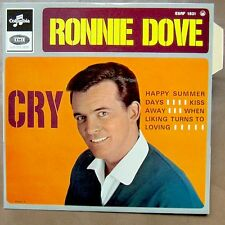 RONNIE DOVE Cry EP RARE FRENCH PS MINT/MINT!
