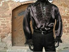Medieval Gothic Vampir Pirat Shirt black new M ° new