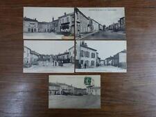 5x CPA CARTES POSTALES POSTCARDS vers 1900 54 COLOMBEY LES BELLES