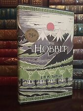 The Hobbit by JRR Tolkien 75th Anniversary New Deluxe Hardcover Edition
