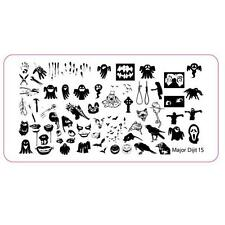 Fashion Halloween DIY Nail Art Image Stamp Stamping Plates Manicure Template new