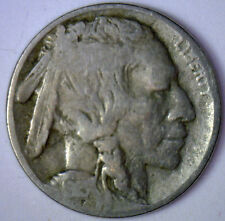 1915 D Buffalo Nickel 5 cent US United States Coin (VG) Very Good #R