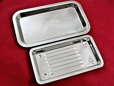 Cynamed USA 2 Dental Instruments Scaler Tray Lab Dentist Tools Autoclavable