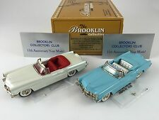 1/43 BROOKLIN 11X 11Y SET LINCOLN CONTINENTAL CONVERTIBLE 1956 BCC 1 OF 200