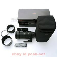 SIGMA super-telephoto zoom APO 50-500mm F4.5-6.3 DG OS HSM Pentax for full-size
