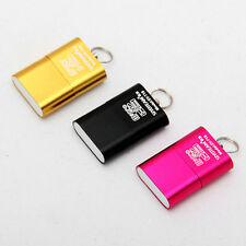 2pcs Cute High Speed Mini USB 2.0 Micro SD TF T-Flash Memory Card Reader Adapter