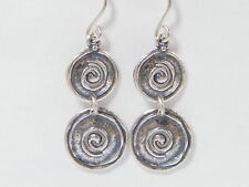 Amazing SHABLOOL ISRAEL Handcrafted Ladies Classic Sterling Silver 925 Earrings
