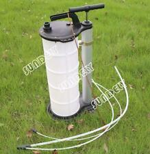 9 LITRE Manual Oil Suction Fluid Extractor Filler Transfer Vacuum Pump Gearbox