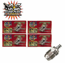 OS Engine Glow Plug TYPE P3 ULTRA HOT TURBO Nitro Gas Power RC 4 pcs Free Ship