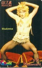 RARE / CARTE TELEPHONIQUE PREPAYEE - MADONNA / PHONECARD LIMITED EDITION
