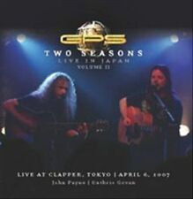 Two Seasons: Live in Japan 2 [Bonus DVD] by GPS (DVD, Feb-2013, Gonzo)