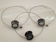10x ,5x ,2.5x Jewellers Eye Glass Loupe Headband Set 3 Check Gold Silver scrap