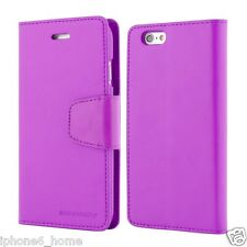 "Genuine MERCURY Goospery Leather Flip Case Wallet For iPhone 6/6s PLUS (5.5"")"