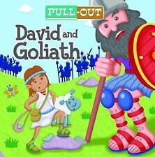 Pull-Out David and Goliath by Josh Edwards (2014, Board Book)