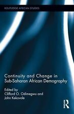Continuity and Change in Sub-Saharan African Demography 17 (2014, Hardcover)