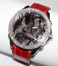 Jacob & Co Five Time Zone Diamonds watch Graffiti Peaceful Warrior 45MM