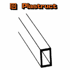 Plastruct RTFS-12 Pack of 4 Plastic Rectangular Tubing 6.4 x 9.5 x 375mm