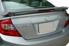 #505 PRIMERED HONDA CIVIC 4DR  FACTORY STYLE SPOILER  2012 2013 2014 2015