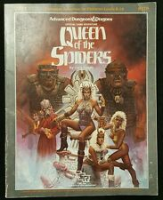 Queen of the Spiders AD&D advanced Dungeons dragons GDQ 1-7 campaign adventure
