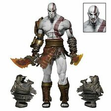 "GOD OF WAR ULTIMATE KRATOS GHOST OF SPARTA ACTION FIGURE 7"" NECA"