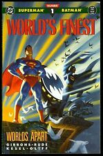 Superman & Batman Worlds Finest #1 Dave Gibbons, DC Comic Graphic Novel TPB 1990