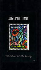 Micronesia 2013 MNH Louis Comfort Tiffany 80th Memorial Ann 1v S/S Stained Glass