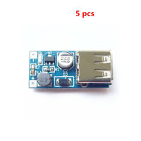 5Stk  Mini PFM Control DC-DC USB 0.9V-5V DC Boost Step-up Power Supply Module