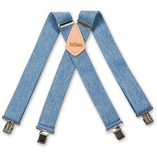 Brimarc Braces Heavy Duty Elasticated Denim Braces 508601