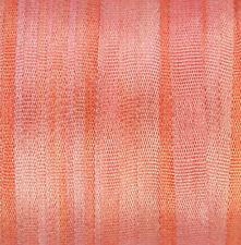 Cinta de seda para el bordado 4mm - 3 metros de salmón