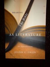 NEW! Reading The Bible As Literature An Introduction Jeanie C. Crain Softback