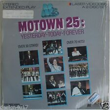 MOTOWN 25 Laserdisc Yesterday, Today & Forever 70 Hits 30 Stars! Rare LD