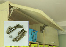 Spring Loaded Kitchen Cabinet Door Lift Assist Hinges Stay Sprung