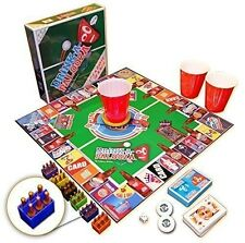 "The ""Monopoly"" of Drinking Games Adult Bachelorette Party Beer Pong Flip Cup NE"