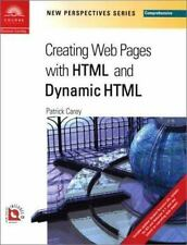 New Perspectives on Creating Web Pages with HTML and Dynamic HTML --ExLibrary