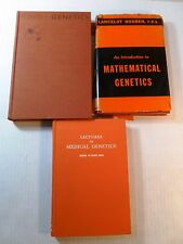 Lot of 3 old books on GENETICS King, Hogben, Hsia