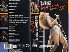 TINA TURNER - DO YOU WANT SOME ACTION! - LIVE FROM BARCELONA 1990 - VHS