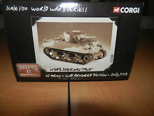 CORGI M4 A3 SHERMAN US ARMY 2ND ARMORED DIV SICILY 1943