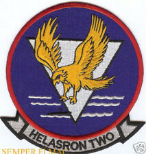 HS-2 PATCH HELASRON 2 Golden Falcons ASW US NAVY VETERAN GIFT PIN UP  HELICOPTER