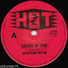 WATUSI NOW  Sound of God / Letter To God 1980's OZ 45