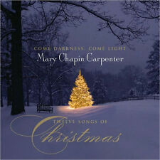 MARY CARPENTER - COME DARKNESS COME LIGHT: TWELVE SONGS CHRISTMAS - CD - Sealed