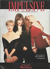 Wilson Phillips Impulsive (Colour Cover)  US Sheet Music