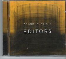(ES399) Editors, An End Has A Start - 2007 CD