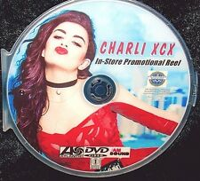 CHARLIE XCX In-Store Promotional Music Video Reel DVD 24 Videos FREE SHIP NOT CD