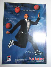PUBLICITE FILA - FOOT LOCKER // BASKET NBA // GRANT HILL