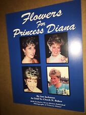 PRINCESS DIANA - NEVER BEFORE PUBLISHED PHOTOS - FLOWERS FOR DIANA softcovr book