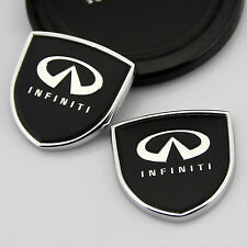 2pcs Shield Auto Car body Left Right Emblems Sticker Decal Badge fit for Black