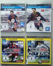 FIFA 14 2014 + FIFA 13 2013 FOOTBALL + pes 2012 + pes 2011 ps3 collection jeux