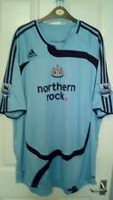 NUOVO senza etichetta Newcastle United Away Shirt nzogbia 14 sul retro Premier League le patch 2xl