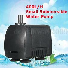 110-220V 400L/H Submersible Aquarium Fountain Pond Small Water Pump Fish Tank